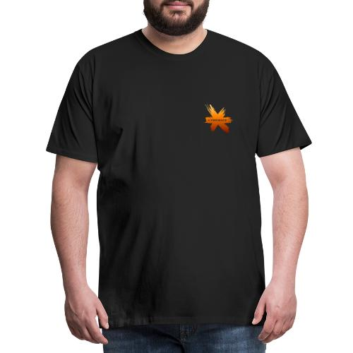 X-Perience Orange Logo - Männer Premium T-Shirt