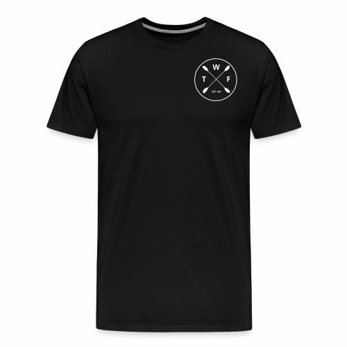 Weisses Logo klein - Männer Premium T-Shirt