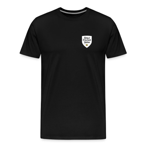 King Of ProcrastiNation - Männer Premium T-Shirt