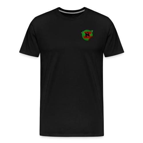 Neko Zombie + Gnar - Camiseta premium hombre