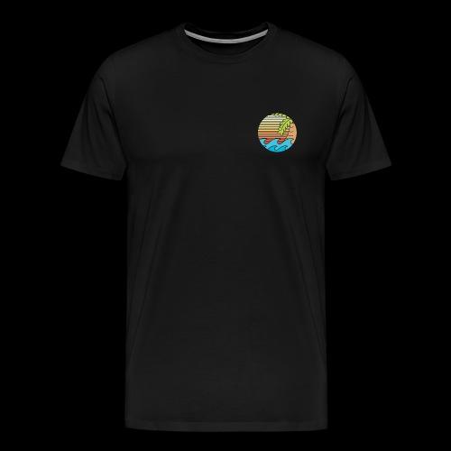mar caribe - Camiseta premium hombre