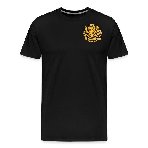 FFP_Logo_circle_blck_pur - Männer Premium T-Shirt