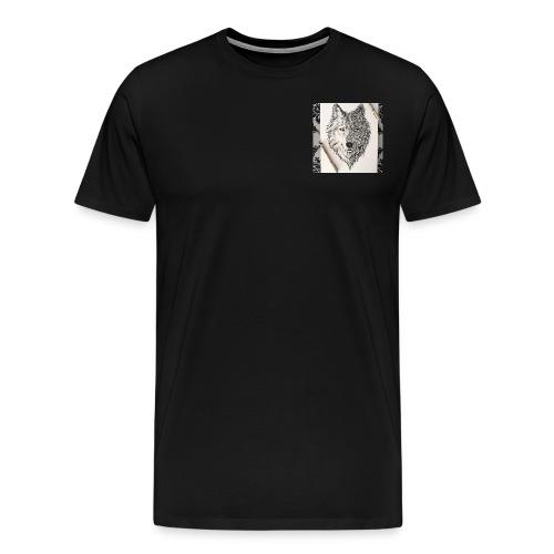 loup - T-shirt Premium Homme