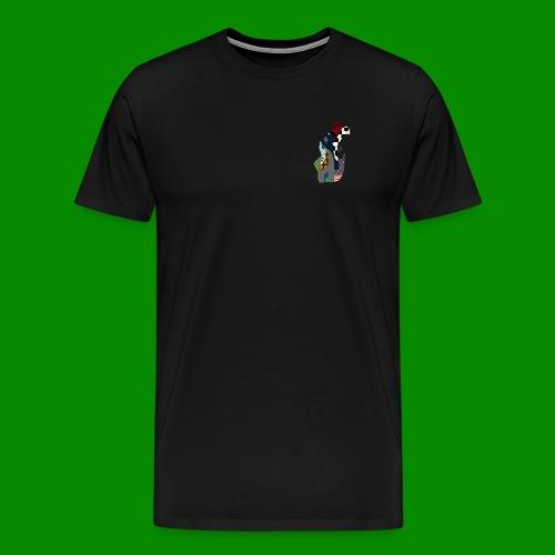PRINTHOCKET - Premium-T-shirt herr