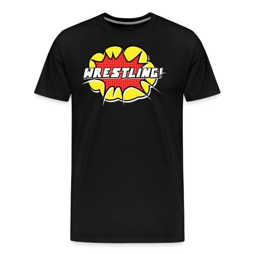 wrestling3 png - Men's Premium T-Shirt