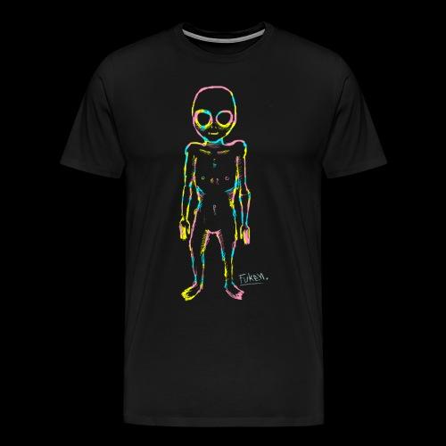 fuken Multi alien png - Men's Premium T-Shirt