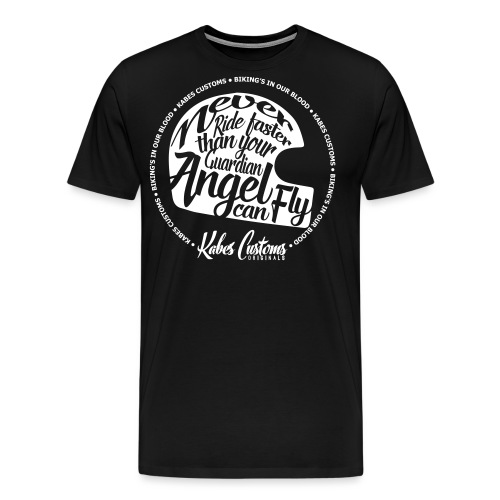Guardian Angel Helmet - Men's Premium T-Shirt