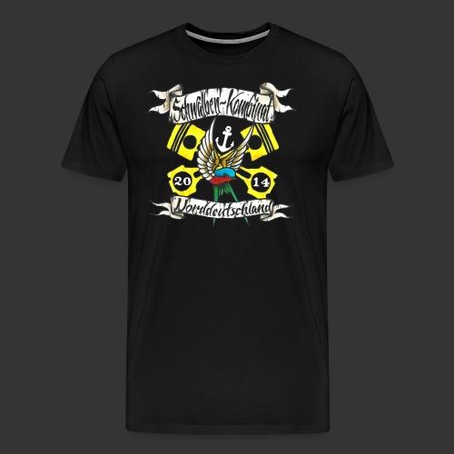 LOGO-SKN14 weiß - Männer Premium T-Shirt