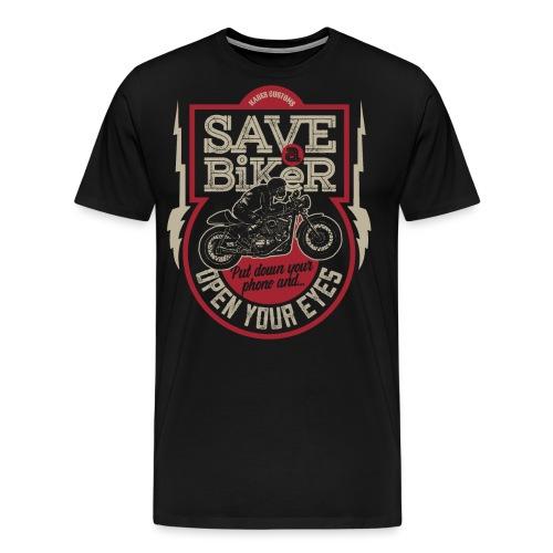 Save A Biker - Men's Premium T-Shirt