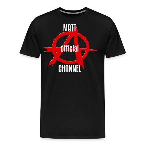 MATT official CHANNEL - Maglietta Premium da uomo