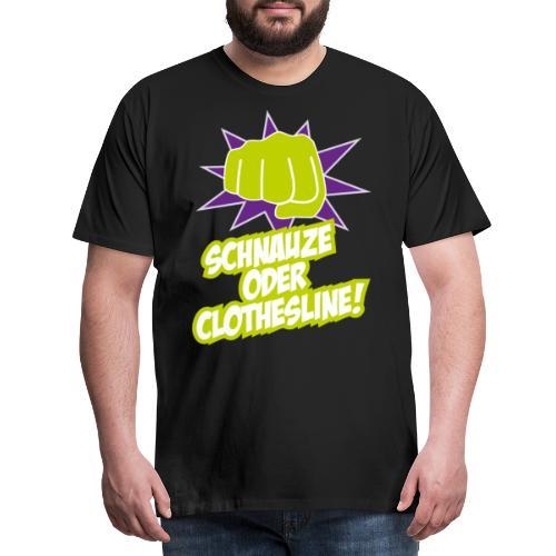Wrestling Fan Geschenk Wrestler Kampfsport Ring - Männer Premium T-Shirt