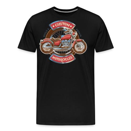 Custom Motorcycles - Camiseta premium hombre