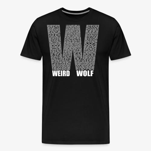 The Big W (White) - Men's Premium T-Shirt