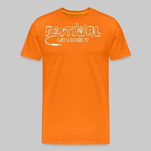 Festival, Let's Rock It - Männer Premium T-Shirt