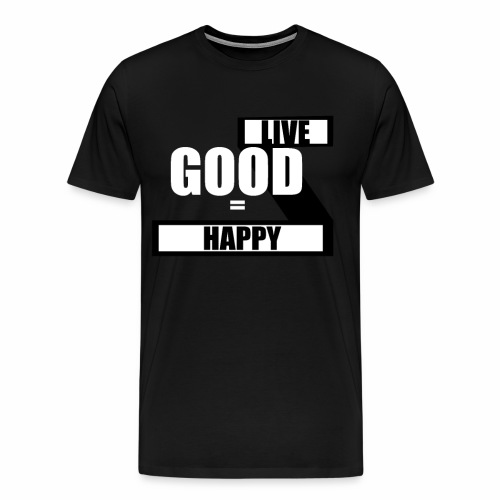 Live good - Herre premium T-shirt