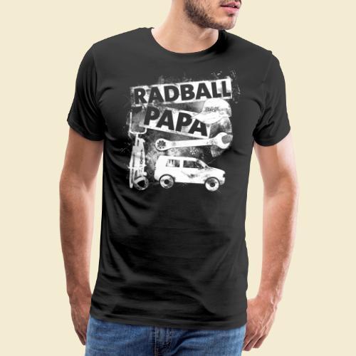 Radball   Papa - Männer Premium T-Shirt