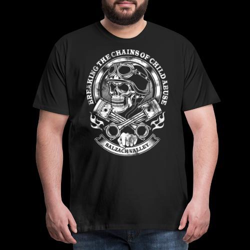 Skull Head - Männer Premium T-Shirt
