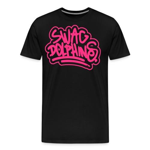 Swag Dolphins - Männer Premium T-Shirt