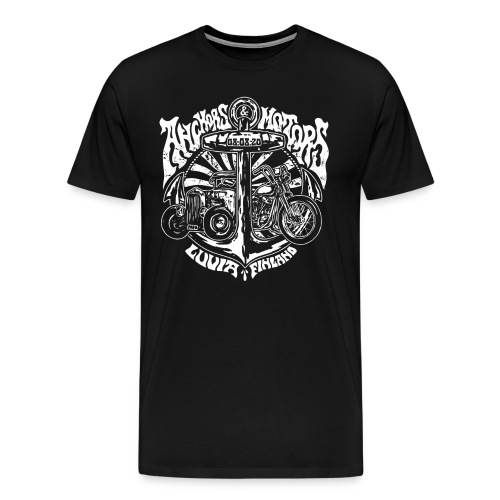 Ankkurit moottorit - Miesten premium t-paita