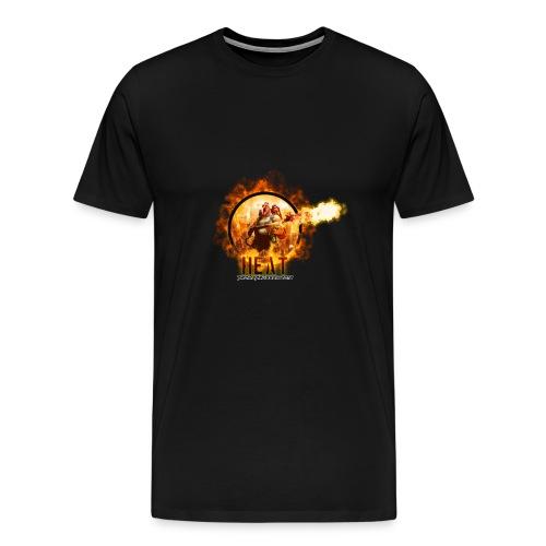 Heat 2019 - Premium T-skjorte for menn