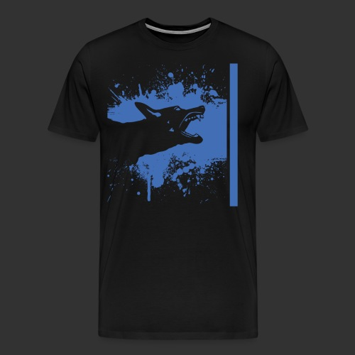 K9 Thin Blue Line - Men's Premium T-Shirt