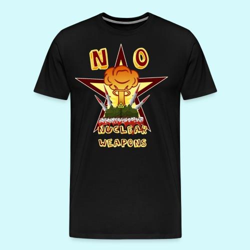 no nuclear Weapons - Keine Atomwaffen - Männer Premium T-Shirt