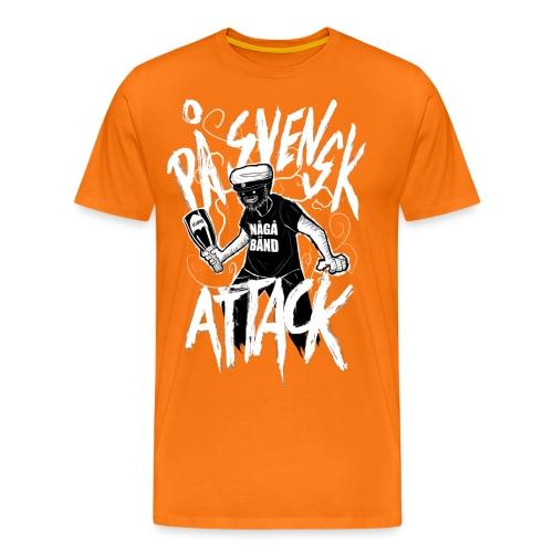På Svenska Tack - Men's Premium T-Shirt