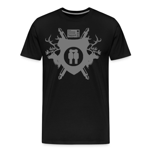 wappen2_mono_proper - Männer Premium T-Shirt