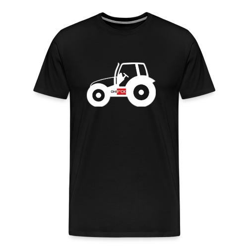 OhFuck_bauern_3120x2560 - Männer Premium T-Shirt
