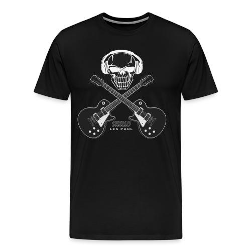 Skello Guitar - Men's Premium T-Shirt
