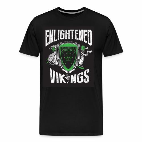 Enlightend Vikings - Premium T-skjorte for menn