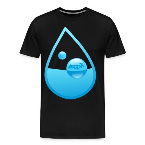 Dråpe - Premium T-skjorte for menn