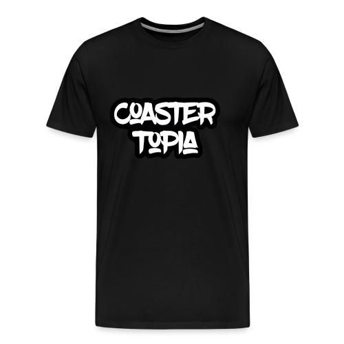 Coastertopia Logo - Mannen Premium T-shirt