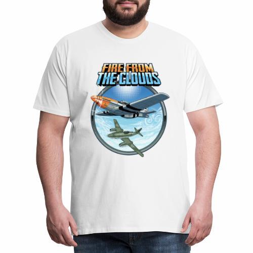 Le feu des nuages - T-shirt Premium Homme