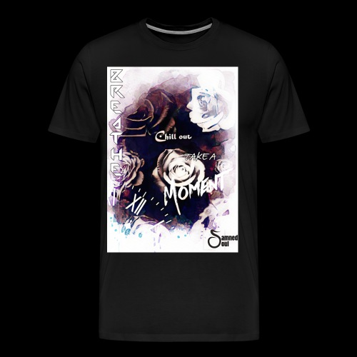 Take a moment rose collage - Men's Premium T-Shirt
