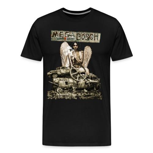 Megabosch Patch - Männer Premium T-Shirt