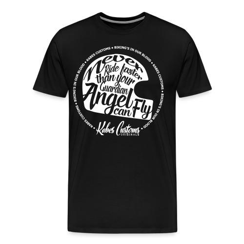 Guardian Angel Helmet - Men's Premium T-Shirt