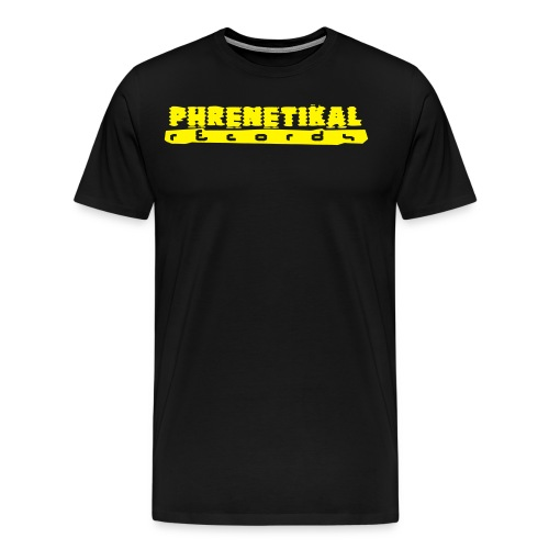 Lettering Basic 01 Phrenetikal - Men's Premium T-Shirt