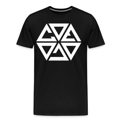 Cosmicwhite - Mannen Premium T-shirt
