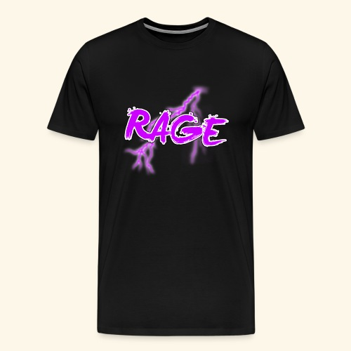 Logo rage - T-shirt Premium Homme