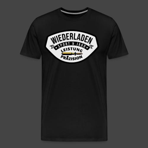 """Das """"Wiederladen""""-Shirt für Wiederlader - Männer Premium T-Shirt"""