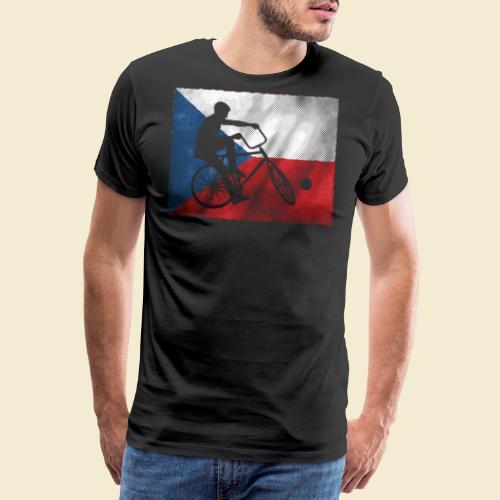 Radball | Flagge Tschechien - Männer Premium T-Shirt