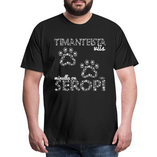 timangiseropi - Miesten premium t-paita