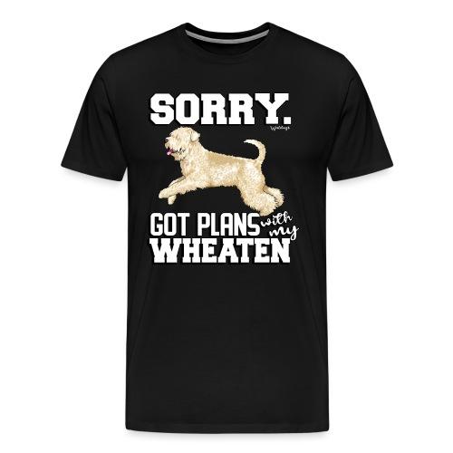 Wheaten Terrier Plans 2 - Men's Premium T-Shirt