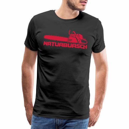 Natuabuasch Motorsäge - Männer Premium T-Shirt
