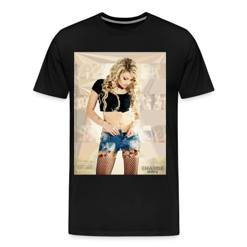 woman1 jpg - Männer Premium T-Shirt