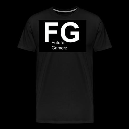 FG lofo boxed black boxed - Men's Premium T-Shirt