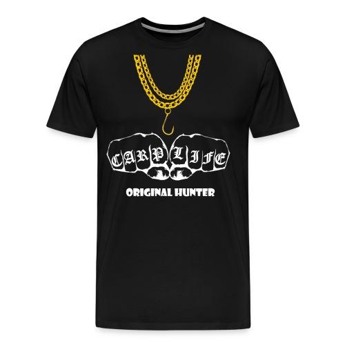 Carp Life Karpfen Jäger Karpfenangler Geschenk - Männer Premium T-Shirt