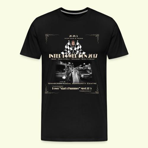 interpower run tröja - Men's Premium T-Shirt