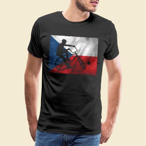 Radball   Flagge Tschechien - Männer Premium T-Shirt
